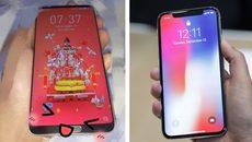 Hãng smartphone Trung Quốc để lộ thiết kế iPhone X trong mơ