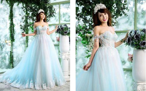 Bí quyết chọn váy cưới cho người thấp gầy