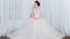 Chia sẻ bí quyết chọn váy cưới cho cô dâu vai rộng
