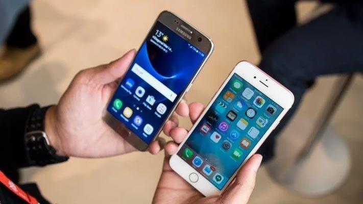 iPhone 8, iPhone 8 Plus, Galaxy S7, Samsung, Apple, smartphone