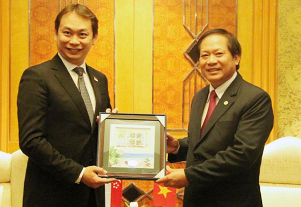 Khuyến khích nhà đầu tư Singapore vào lĩnh vực CNTT