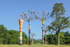 4 nghệ sĩ quốc tế tham gia 'Nghệ thuật trong rừng'