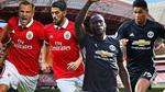 Trực tiếp Benfica vs MU: Rashford và Mata đá chính