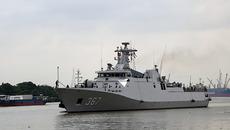 Chiến hạm tàng hình Indonesia thăm TP.HCM0