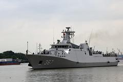 Chiến hạm tàng hình Indonesia thăm TP.HCM