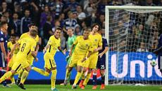 Neymar và Cavani bùng nổ, PSG đại thắng trên đất Bỉ