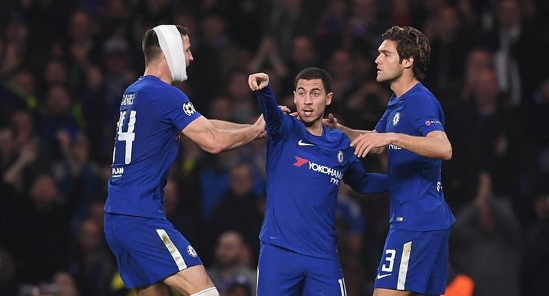 Chelsea và Roma cưa điểm sau màn rượt đuổi 'điên rồ'