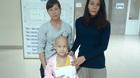 Trao hơn 72 triệu đồng đến bé Phạm Thị Minh Hằng bị ung thư xương
