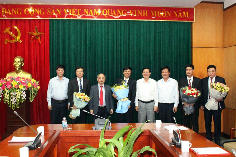 Công bố quyết định nhân sự Bộ Nội vụ