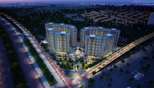 Hơn 85% căn hộ K-L Xuân Mai Complex 'có chủ'