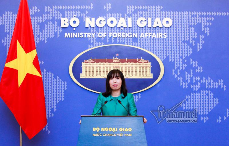 Lê Thị Thu Hằng, người phát ngôn, Bộ Ngoại giao
