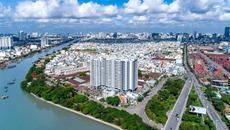 Căn hộ ba mặt view sông hút giới đầu tư