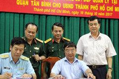 Bộ Quốc phòng bàn giao đất khu vực Tân Sân Nhất cho TP.HCM