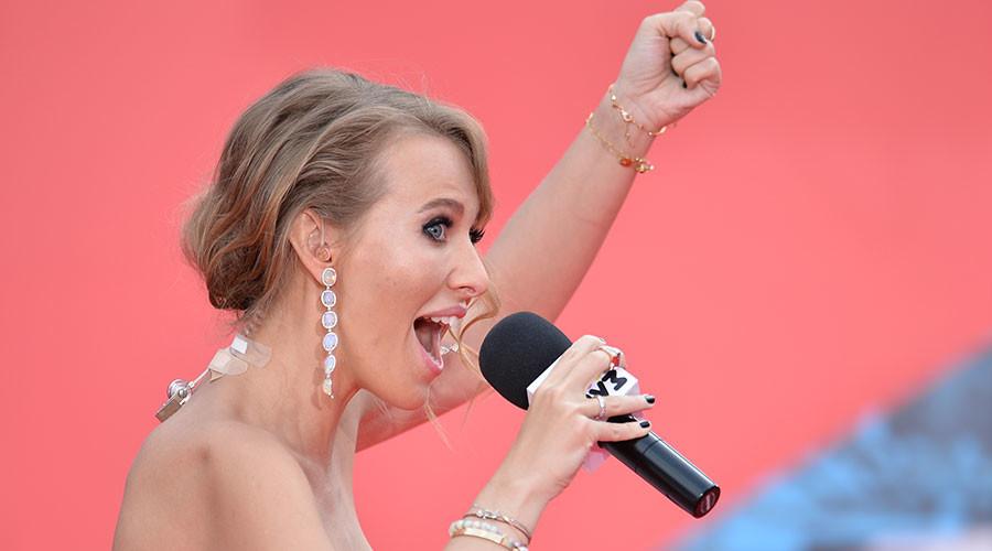 Nữ diễn viên xinh đẹp muốn tranh chức tổng thống Nga