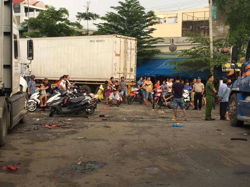 Tài xế đâm chết đồng nghiệp ở chợ đầu mối lớn nhất Sài Gòn