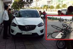 Truy đuổi ô tô húc người lên nắp capo tử vong ở Sài Gòn