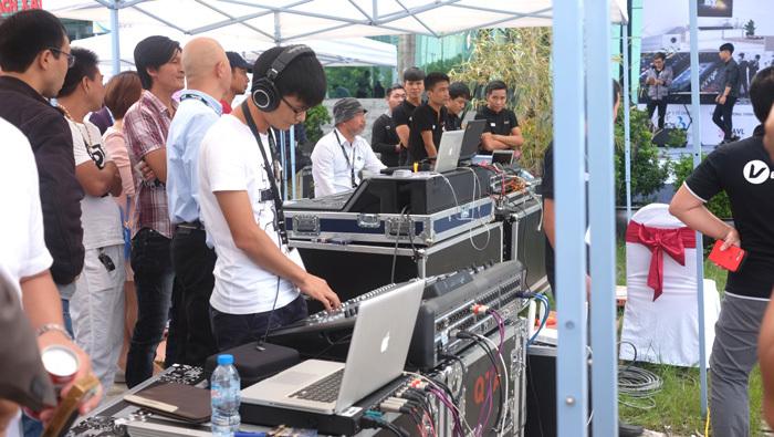 Triển lãm hệ thống âm thanh biểu diễn chuyên dụng tại Hà Nội