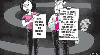 Cả tin nữ Việt kiều, ông lão 70 gánh 'khoản nợ' 15 tỷ đồng