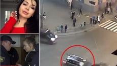 Video ghi lại cảnh ái nữ tỷ phú Ukraina vượt đèn đỏ, đâm chết 6 người