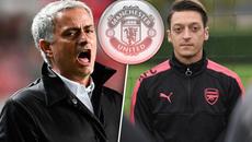 """Diễn biến mới Ozil đến MU, bộ sậu Chelsea """"phá"""" Conte"""