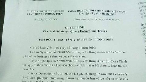 Bộ trưởng Y tế, bôi nhọ Bộ trưởng, Facebook, Nguyễn Thị Kim Tiến, nói xấu Bộ trưởng, Bộ trưởng TT&TT, Trương Minh Tuấn, Uông Ngọc Dậu
