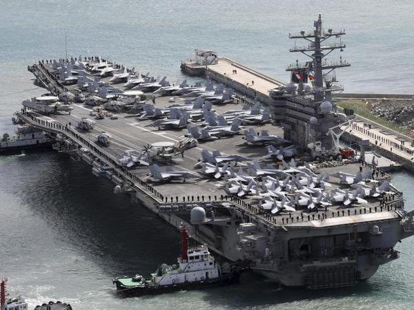Cặp siêu chiến cơ Mỹ lượn sát sạt Triều Tiên