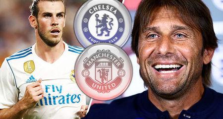 MU tệ nhất, Conte mua gấp Bale để... giữ ghế