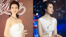 MC Thanh Mai khoe vẻ đẹp bất chấp thời gian dù ở tuổi U50