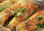 Làm bánh tráng mắm ruốc bằng chảo chống dính