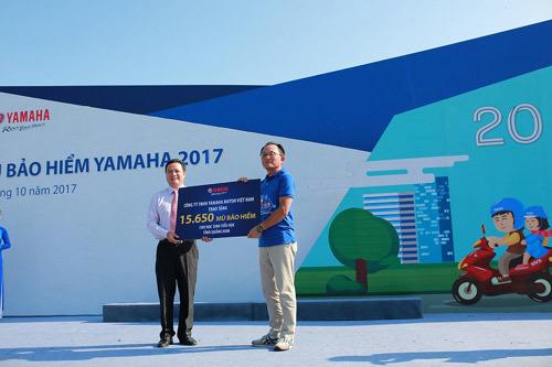 Yamaha Motor góp sức cải thiện an toàn giao thông ở VN