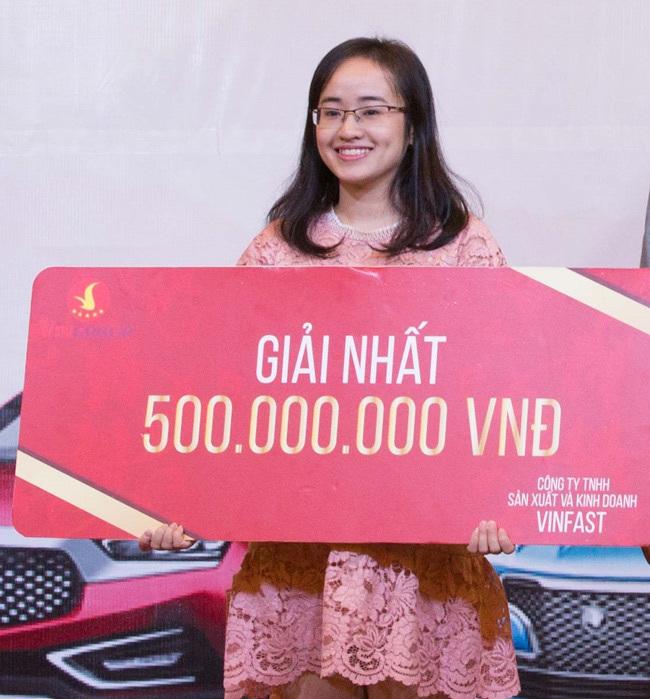 1,1 tỷ đồng Giải thưởng Chọn xế yêu cùng Vinfast