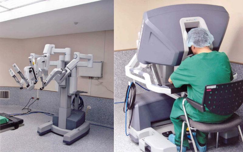 robot, phẫu thuật robot, bệnh viện Chợ Rẫy