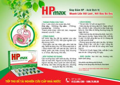 Giải pháp cho viêm dạ dày mãn tính, có vi khuẩn HP
