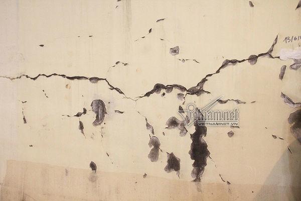 nứt hầm Hải Vân,Đèo Cả,vết nứt,Hải Vân,Đà Nẵng