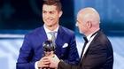 Trực tiếp lễ trao giải Cầu thủ xuất sắc nhất 2017: Cú đúp cho Ronaldo?