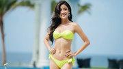 Huyền My tự tin sải bước trong đêm bán kết Hoa hậu hoà bình Thế giới