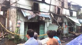 Cháy nhà giữa đêm ở Sài Gòn, 2 bà cháu tử vong