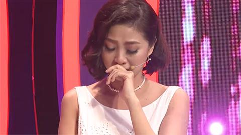MC Hà Trinh rơi nước mắt nhớ bị cảnh người yêu phản bội