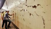 Hầm Hải Vân chằng chịt vết nứt