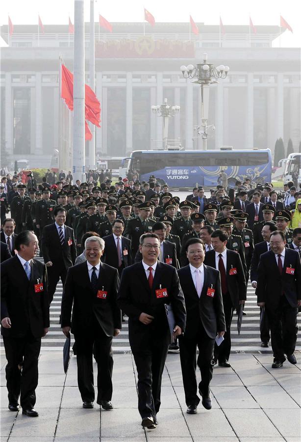 Đại hội Đảng Trung Quốc bế mạc, bầu xong Ban chấp hành