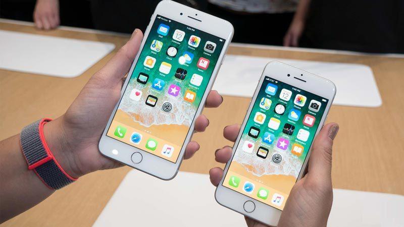 [VietnamNet.vn] iPhone 8, iPhone 8 Plus bán chạy nhất thế giới tháng 10/2017