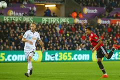 Video bàn thắng Swansea 0-2 MU