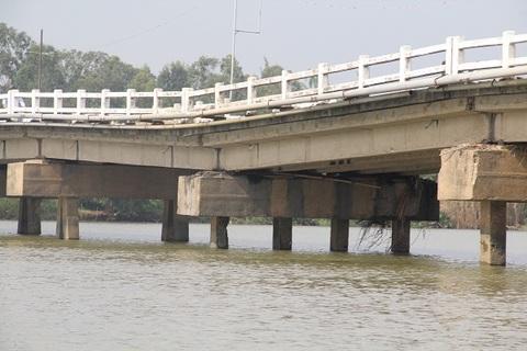 cầu lún ở Quảng Nam