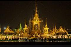 Xem tổng duyệt lễ tang cố Quốc vương Thái Lan