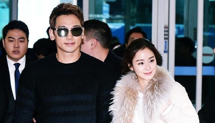 Kim Tae Hee - Bi Rain đón con gái đầu lòng