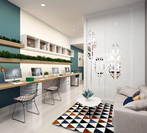 Văn phòng 'resort' hiếm có tại Nam Sài Gòn