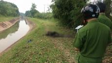 Thái Nguyên: Thanh niên tự thiêu cháy đen bên bờ kênh