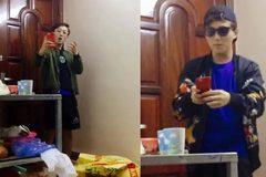Chàng trai bá đạo nhất năm: Trong 1 phút thay 3 bộ quần áo để 'sống ảo'