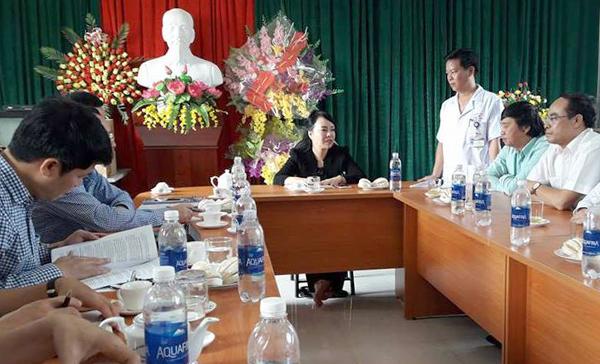 Nguyễn Thị Kim Tiến,Bộ trưởng Y tế,Bộ trưởng Y tế Nguyễn Thị Kim Tiến,an ninh bệnh viện,bác sĩ bị đánh