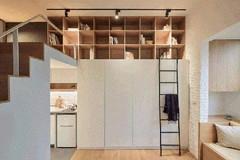 Cách sắp xếp đáng học hỏi biến căn hộ 22m2 thành rộng 'thênh thang'